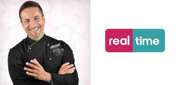 Su Real Time Renato Ardovino con una nuova serie Torte in corso con Renato